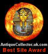 This site's been granted 2013 Best Site Award by AntiqueCollector.uk.com.