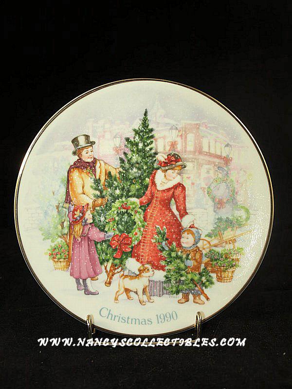 Christmas Avon Christmas Plates Nancy S Antiques