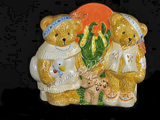 Cherished Teddies - Harvest Napkin Holder