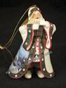 Ashton-Drake-Thomas Kinkade's Ornament Collection-Dawn Of Christmas Day Santa