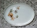 Taylor Smith Taylor Autumn Spiral Oval Serving Platter