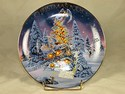 Avon Christmas Plate-Angel Lights-2005
