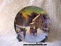 Avon Christmas Plate - 1988 - Home For The Holidays