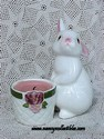 Avon Easter - 1980 - Bunny Bright Candle Holder