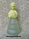 Avon Garden Girl Figurine - Somewhere Cologne Bottle