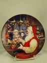 Avon Christmas Plate, 1996 - Santa's Loving Touch