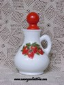 Avon Strawberry and Cream Bath Foam Cruet