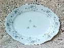 Johann Haviland Blue Garland Oval Platter