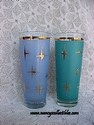 Blue & Green Drinking Glasses