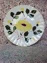 Blue Ridge Plate-Yellow Nocturne - Colonial Shape