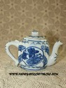 Miniature Blue & Teapot