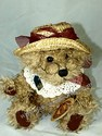 Brass Button Bear, Rosie-Bear of Joy
