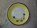 Vernon Kilns Brown Eyed Susan Pattern Platter