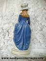 California Pottery - Stewart B. McCulloch Lady Figurine Back View
