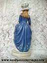 California Pottery - Stewart B. McCulloch Lady Figurine Back View