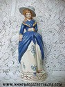 California Pottery - Stewart B. McCulloch Lady Figurine Front View