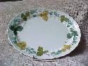 Metlox Vernonware Vineyard Pattern Medium Oval Platter