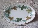 Metlox Vernonware Small Oval Platter Vineyard Pattern