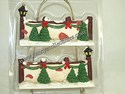 Ceramic/Bisque Christmas Fence