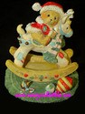 Cherished Teddies Beth - Happy Holidays, Deer Friends