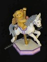 Cherished Teddies June Carousel - Avon Exclusive Monthly Figurine