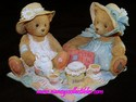 Cherished Teddies Freda and Tina - Our Friendship Is A Perfect Blend-Retired 9/2004