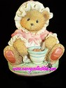 Cherished Teddies Little Miss Muffet - I'm Never Afraid With You - Retired,1998