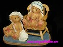Cherished Teddies-Priscilla and Greta - Our Hearts Belong To You-International Limited Edition-Retired