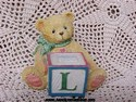 Cherished Teddies-L Block