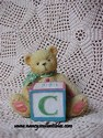 Cherished Teddies-C Block-sold
