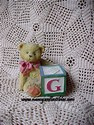 Cherished Teddies-G Block