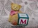 Cherished Teddies-M Block-sold