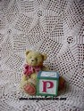 Cherished Teddies-P Block