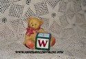 Cherished Teddies-W Block