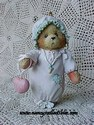 Cherished Teddies - Baby Girl's First Christmas-Retired