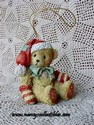 Cherished Teddies - Bear With Red Stocking Cap