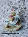 Cherished Teddies - Bear On Rocking Reindeer