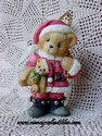 Cherished Teddies - Bear Dressed As Santa