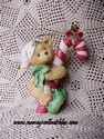 Cherished Teddies - Elf With Candy Cane