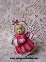Cherished Teddies - Girl With Muff Ornament