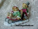 Cherished Teddies Lindsey & Lyndon - Walking In a Winter Wonderland - Retired