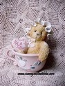 Cherished Teddie Marilyn - A Cupful Of Cheer - Retired