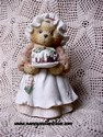 Cherished Teddies - Mrs. Cratchit-Susp.,1996