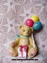Cherished Teddies-Nina-Beary Happy Wishes-Retired-National Event Figurine