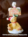 Cherished Teddies North Pole Sign