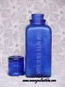 Cobalt Blue Wyeth Bottle-view 2