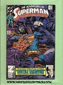 DC - The Adventures of SuperMan - Wayfarer - May, 1989 Number 454