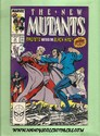 Marvel Comics - The New Mutants May, 1989 Number 75
