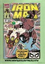 Marvel Comics - Iron Man Retribution June., 1990 Number 257-sold