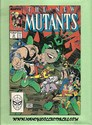 Marvel Comics - The New Mutants August, 1989 Number 78